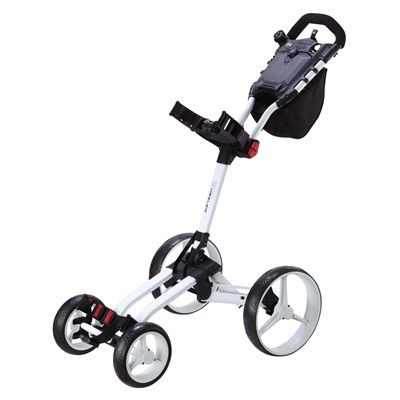 Big Max Wheeler Golf Trolley - White