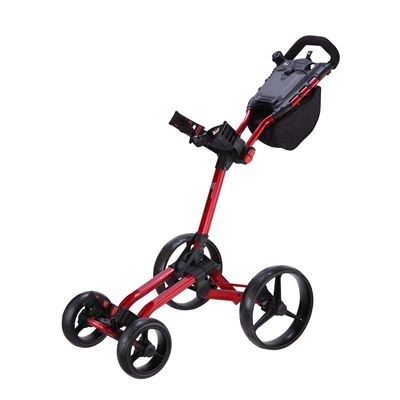Big Max Wheeler Golf Trolley - Red