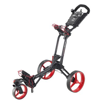 Big Max Z 360 Golf Trolley-Black and Red