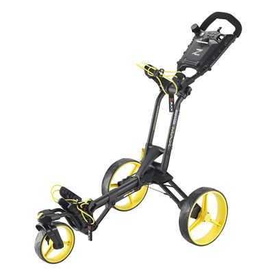 Big Max Z 360 Golf Trolley-Black and Yellow