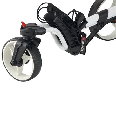 Big Max Z 360 Golf Trolley-Front Wheel Detail