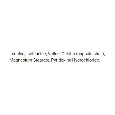 Bio-Synergy BCAA 2.1.1 Capsules - ingredients