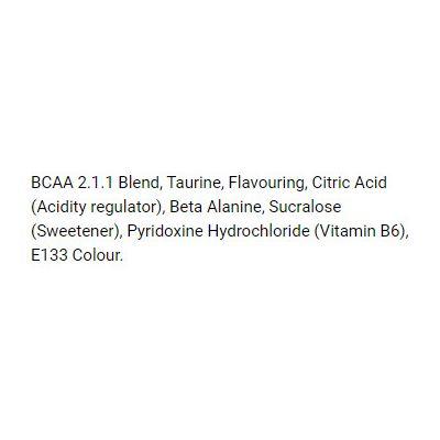 Bio-Synergy BCAA Powder Caffeine Free - ingredients