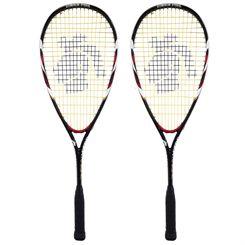 Black Knight Flash 3700 Squash Racket Double Pack