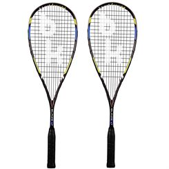 Black Knight Hex Blaze LT Squash Racket Double Pack