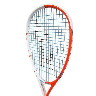 Black Knight Hex Maverick Squash Racket - Angled