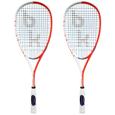Black Knight Hex Maverick Squash Racket Double Pack