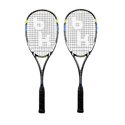 Black Knight Hex Phenom Squash Racket Double Pack - Main image