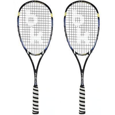 Black Knight Hex Phenom Squash Racket Double Pack