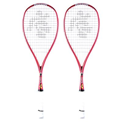Black Knight Ion Cannon Squash Racket Double Pack