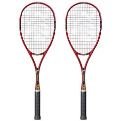 Black Knight Ion Storm XT Squash Racket Double Pack