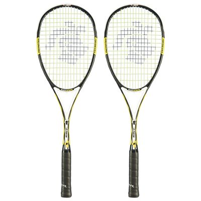 Black Knight Ion X Force Black Squash Racket Double Pack 1