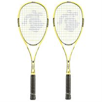 Black Knight Ion X Force Yellow Squash Racket Double Pack