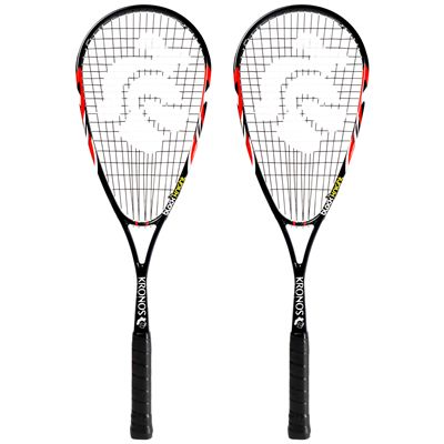 Black Knight Kronos Squash Racket Double Pack