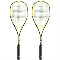Black Knight Magnum Corona 6 Squash Racket Double Pack