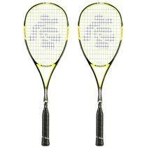 Black Knight Magnum Corona 6 Squash Racket Double Pack