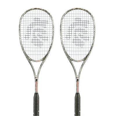 Black Knight Main Frame Squash Racket Double Pack