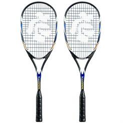 Black Knight Omega Squash Racket Double Pack