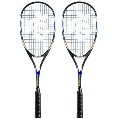 Black Knight Omega Squash Racket Double Pack SS16