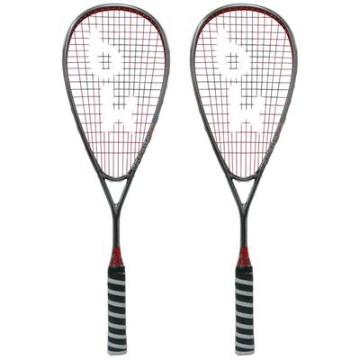 Black Knight QuickSilver nXS Squash Racket Double Pack