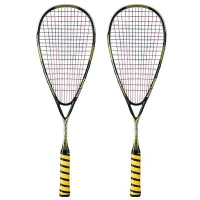 Black Knight QuickSilver TC Squash Racket Double Pack