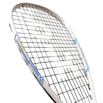 Black Knight Reflex Squash Racket- Angle