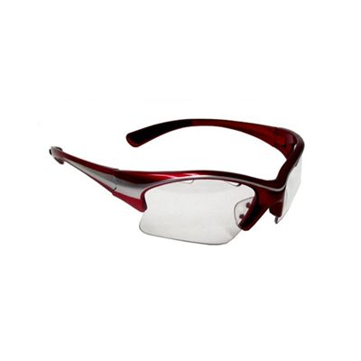 Black Knight Stiletto Eye Guards -Red