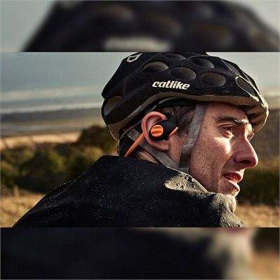 Boompods Sportpods Enduro Bluetooth Sports Headphones - In Use