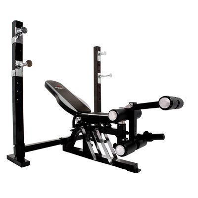 Bruce Lee Dragon Olympic Weight Bench and 140kg from York bench