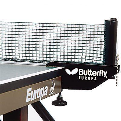 Butterfly Europa Table Tennis Net Amp Post Set