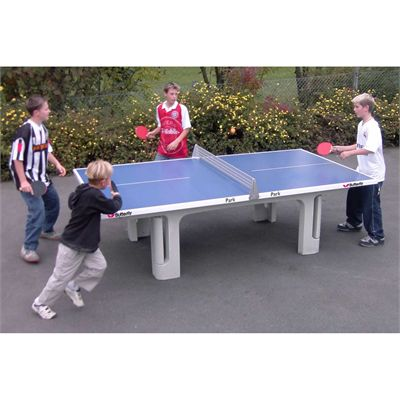 Butterfly Park Concrete table 45SQ Table Tennis Table Blue