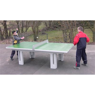Butterfly B2000 Concrete Table Tennis Table - In use
