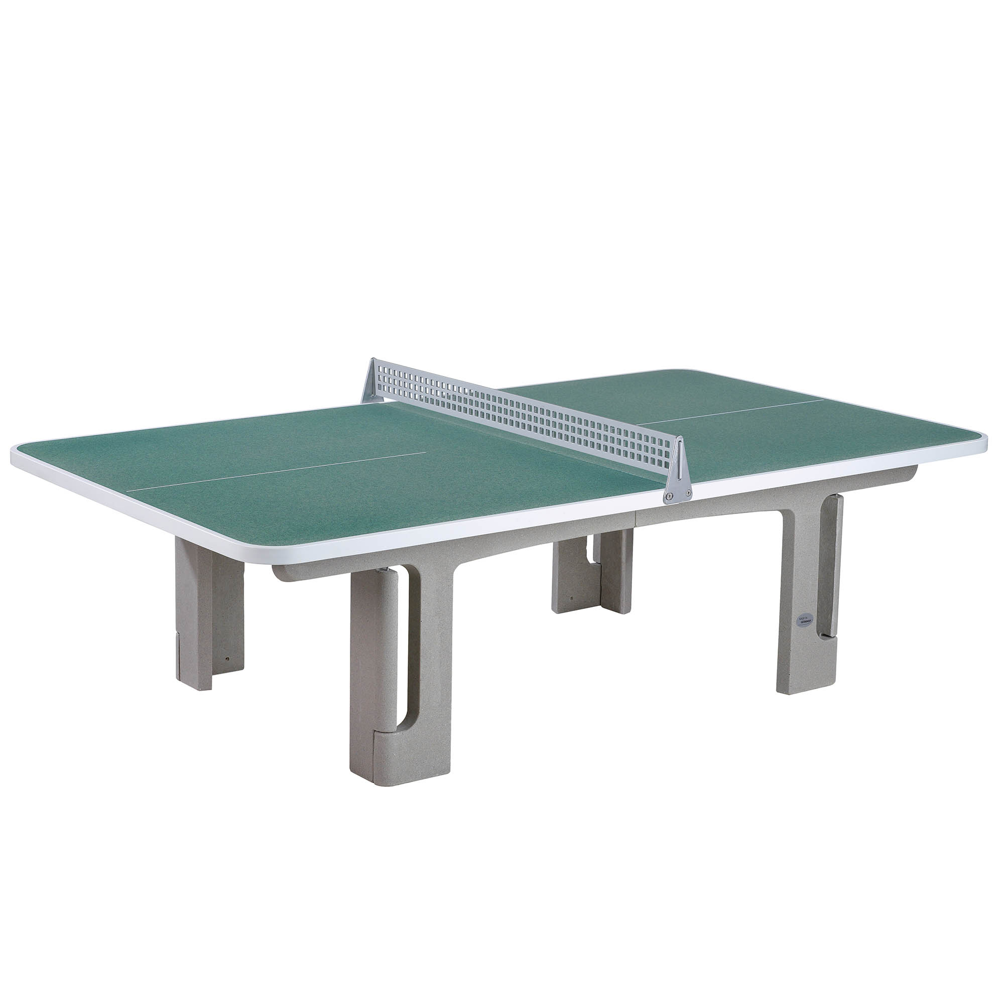 Image of Butterfly B2000 Standard Concrete Table 30SQ Table Tennis Table - Graphite Green