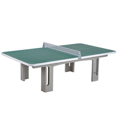 Butterfly B2000 Standard Concrete table 30SQ Table Tennis Table - Graphite Green