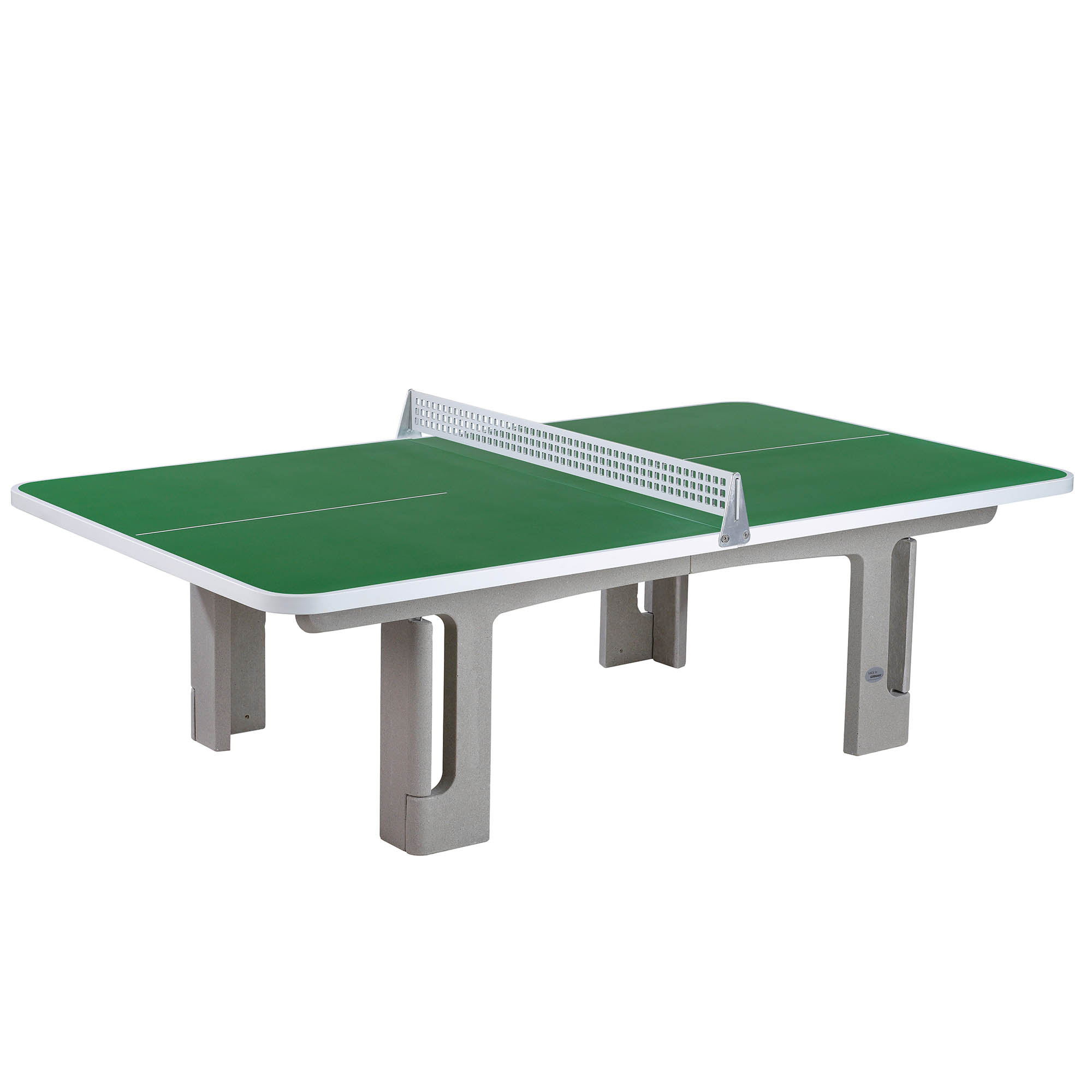 Image of Butterfly B2000 Standard Concrete Table 30SQ Table Tennis Table - Green