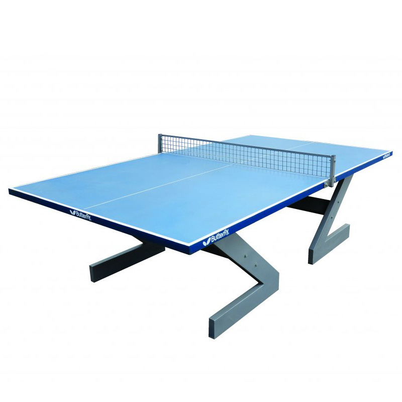 Butterfly City Concrete Outdoor Table Tennis Table
