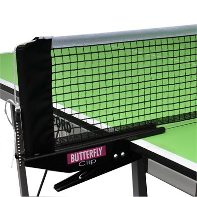 Butterfly Clip Table Tennis Net and Post Set 3