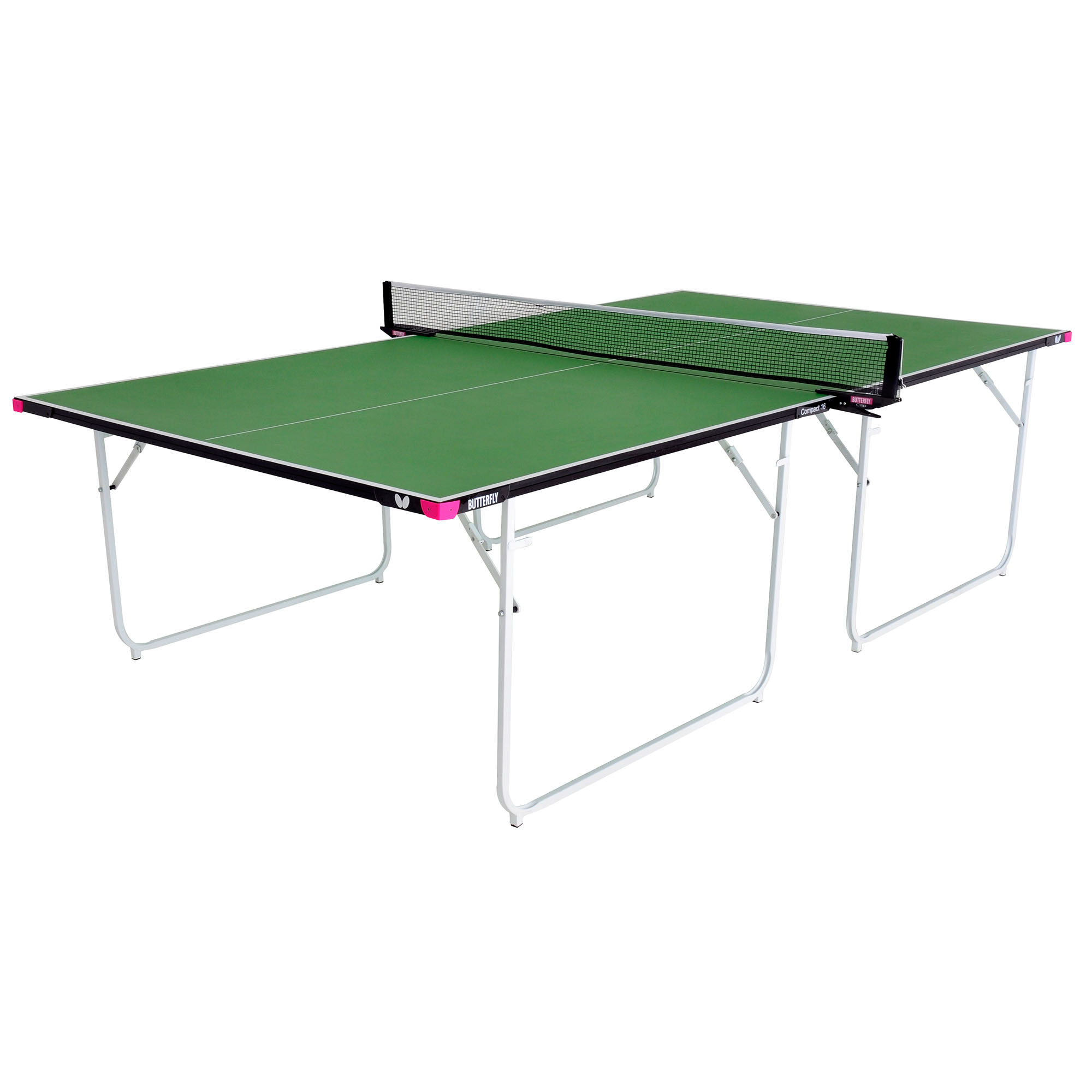 Butterfly Compact 16 Indoor Table Tennis Table  Green