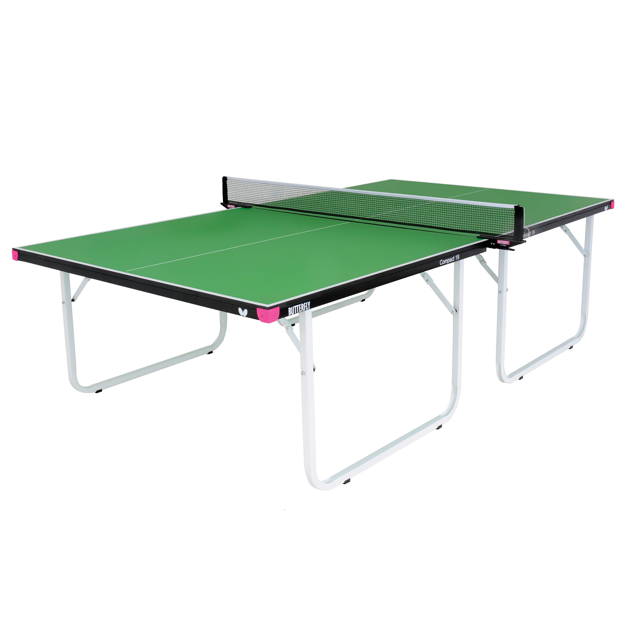 Butterfly Compact 19 Indoor Table Tennis Table  Green