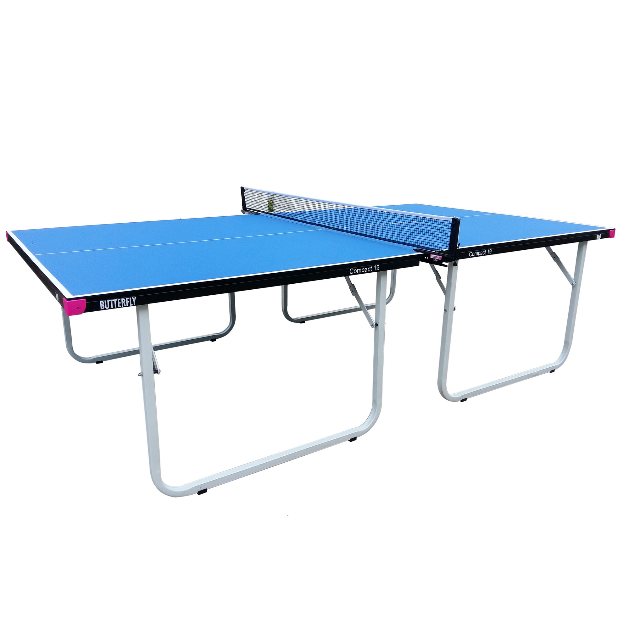 Butterfly Compact 19 Indoor Table Tennis Table  Blue
