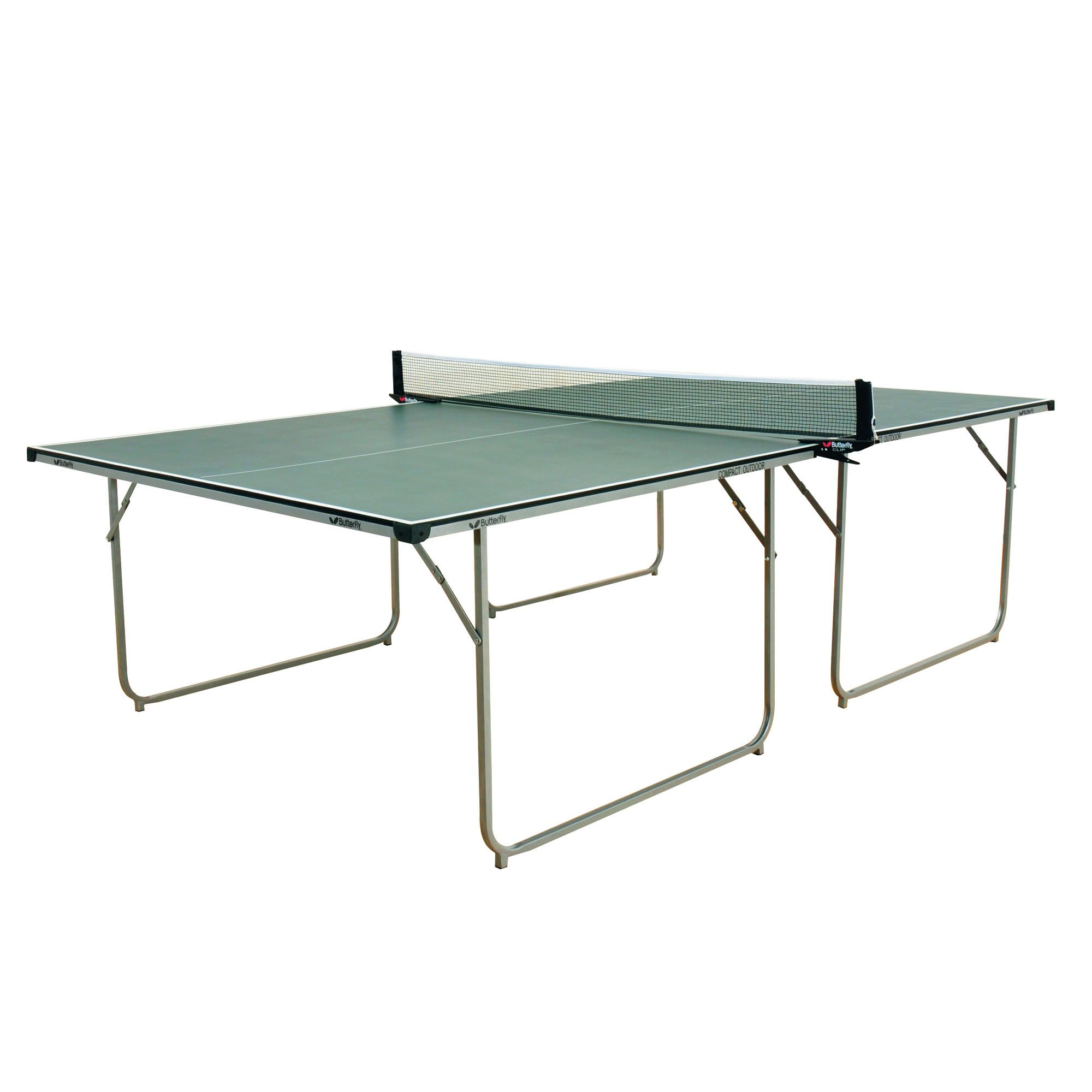 Butterfly compact outdoor table tennis table - Weatherproof table tennis table ...