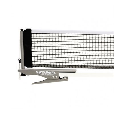Butterfly Competition Clip Table Tennis Net and Post Set Image View