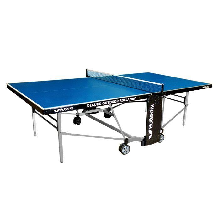 Butterfly deluxe outdoor rollaway table tennis table - Used outdoor table tennis tables for sale ...