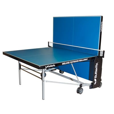 Butterfly Deluxe Outdoor Rollaway Table Tennis Table - Playback