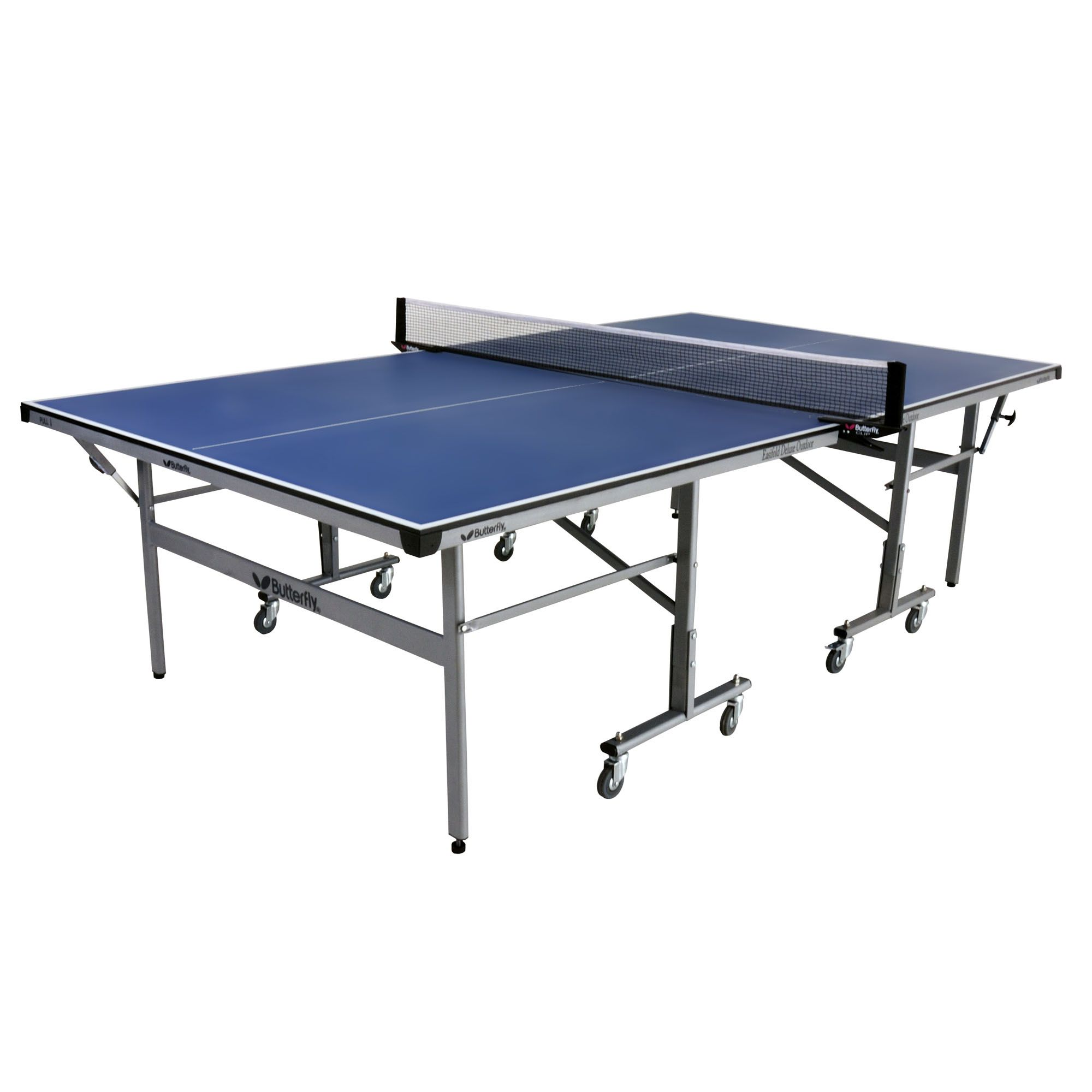 Butterfly easifold deluxe outdoor table tennis table for Table tennis