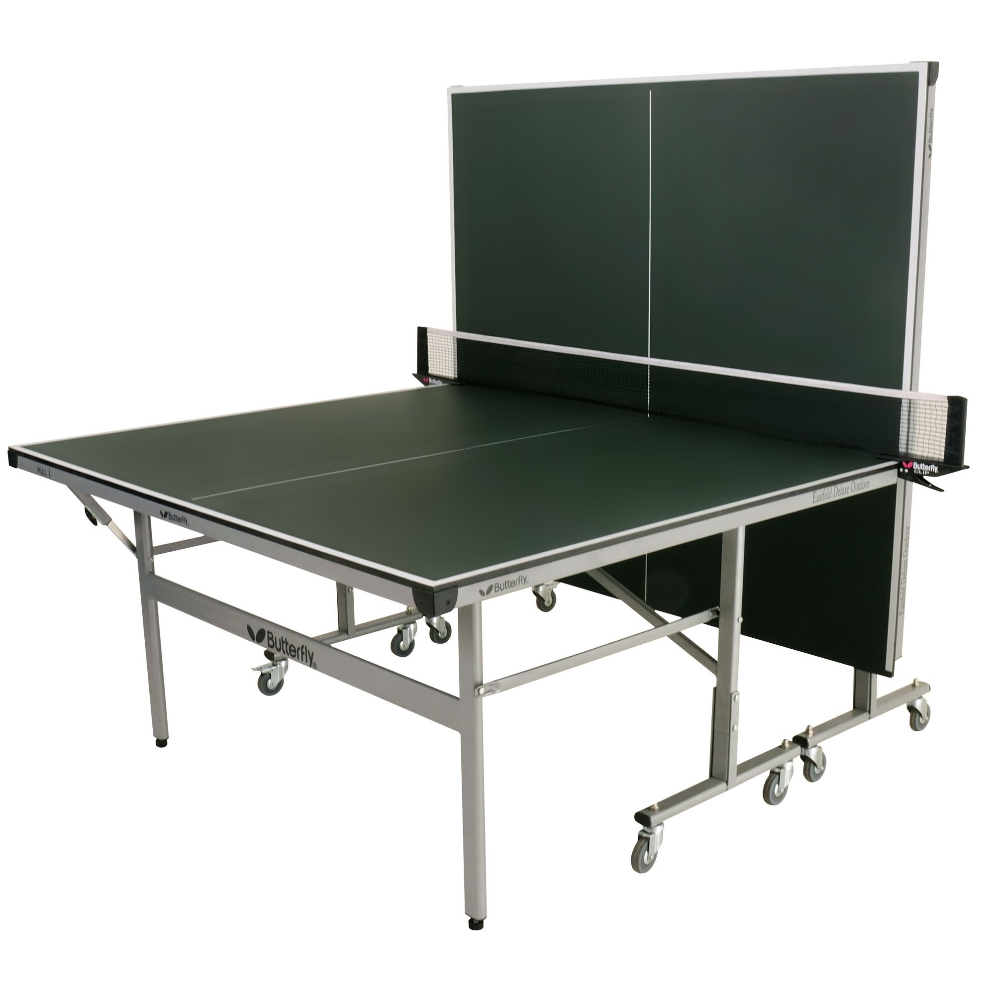 Butterfly easifold deluxe outdoor table tennis table - Weatherproof table tennis table ...