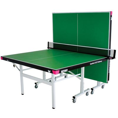 Butterfly Easifold DX22 Indoor Rollaway Table Tennis Table - Green - Playback