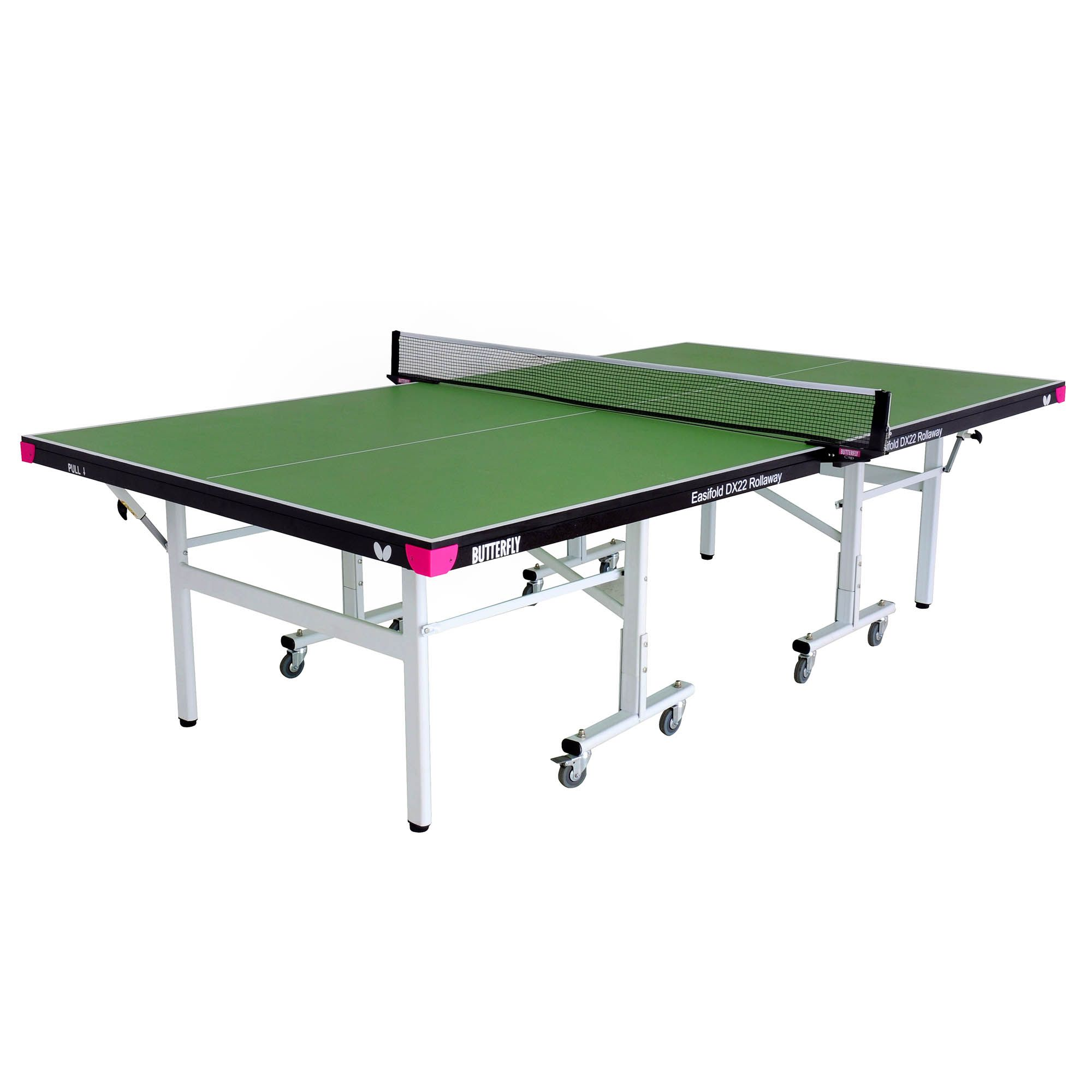 Butterfly easifold dx22 indoor rollaway table tennis table for Table tennis