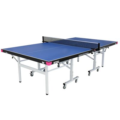 Butterfly Easifold DX22 Indoor Rollaway Table Tennis Table Blue - Blue
