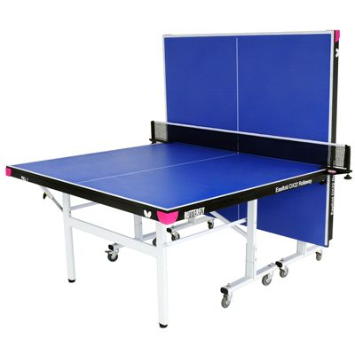 Butterfly Easifold DX22 Indoor Rollaway Table Tennis Table Blue - Playback
